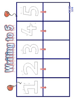 Counting Pictures 1-10 Math Center Kinder (Bilingual)