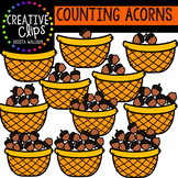 Counting Pictures: Acorns {Creative Clips Clipart}
