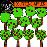 Counting Pictures: Apples {Creative Clips Clipart}