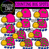 Counting Pictures: Bug Spots Spring Clipart {Creative Clips Clipart}