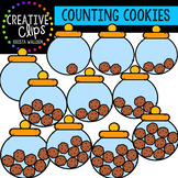 Counting Pictures: Cookie Jars {Creative Clips Clipart}