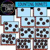 Counting Pictures: Donuts {Creative Clips Clipart}