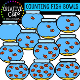 Counting Pictures: Fish Bowls {Creative Clips Clipart}