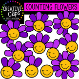 Counting Pictures: Flower Petals{Creative Clips Clipart}