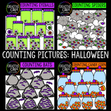 Counting Pictures: Halloween Clipart {Creative Clips Clipart}