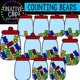 Counting Pictures: Math Bears {Creative Clips Clipart}