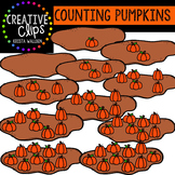 Counting Pictures: Pumpkins {Creative Clips Clipart}