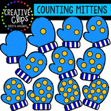 Counting Pictures: Winter Mittens {Creative Clips Clipart}