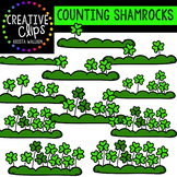 Counting Pictures: St. Patrick's Day Shamrocks {Creative Clips Clipart}