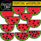 Counting Pictures: Watermelon {Creative Clips Clipart}