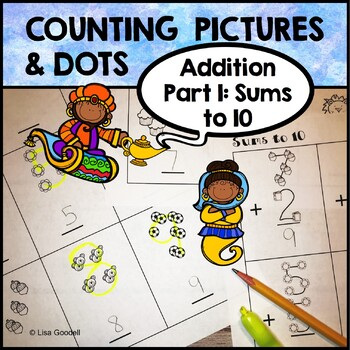 #Autism Counting Pictures and Dots: Addition for Special Ed PART 1