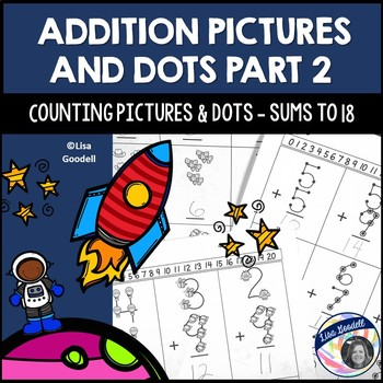 #Autism Counting Pictures and Dots: Addition for Special Ed PART 2