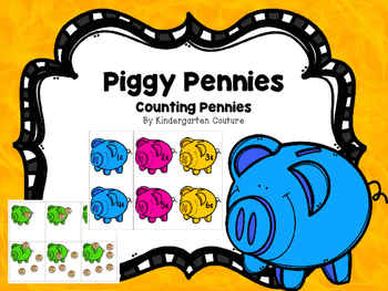 Counting - Piggy Pennies