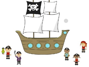 Interactive Counting Pirates Notebook