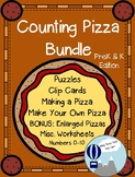 Counting Pizza Math Number Sense Bundle