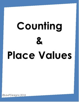 Counting & Place Values