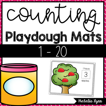 Counting 1-20 Playdough Mats
