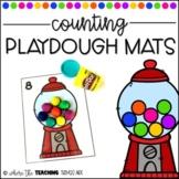 Counting Playdough Mats