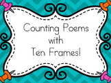 Counting Poems with Ten Frames: A Beginning of the Year Kindergarten Resource