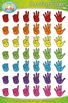 Counting Fingers Clipart Set — Over 80 Graphics!