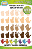 Counting Fingers Clipart {Zip-A-Dee-Doo-Dah Designs}
