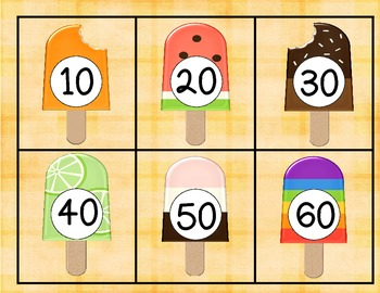 Counting Popsicles **A Freebie**