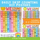Counting Poster - Daily Skip Counting
