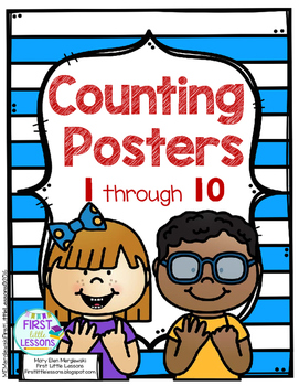 Counting Posters Numbers 1-10
