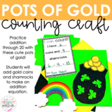 Counting Pots of Gold Math Craft for March