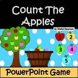 Counting PPT Game - Apples Numbers 1-20