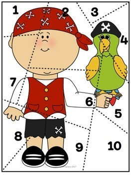 Counting Practice 1-12 ~ Center Activities and Worksheets