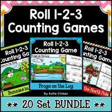 Counting Practice - 20 Set BUNDLE