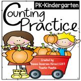 Counting Practice PK-Kindergarten