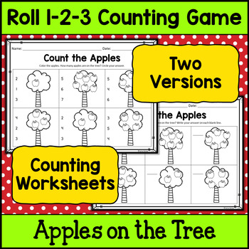 Counting Practice - Apples on the Tree