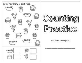 Counting Practice Booklet