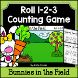 Spring Counting Practice - Bunnies in the Field