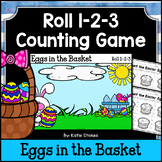 Easter Counting Practice - Eggs in the Basket