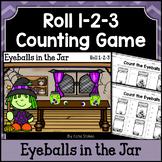 Halloween Counting Practice - Eyeballs in the Jar