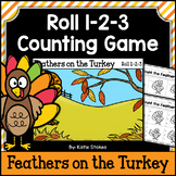 Thanksgiving Counting Practice - Feathers on the Turkey
