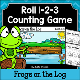 Counting Practice - Frogs on the Log