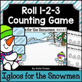 Winter Counting Practice - Igloos for the Snowmen