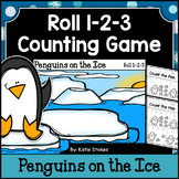 Winter Counting Practice - Penguins on the Ice