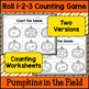 Fall Counting Practice - Pumpkins in the Field