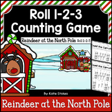 Christmas Counting Practice - Reindeer at the North Pole