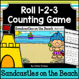 Summer Counting Practice - Sandcastles on the Beach