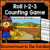 Fall Counting Practice - Scarecrows in the Garden