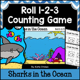 Summer Counting Practice - Sharks in the Ocean