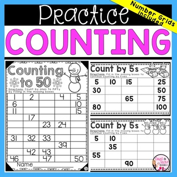 Counting Practice by Ones and Fives