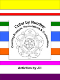 Counting Principle - Permutation - Combination Color by Number