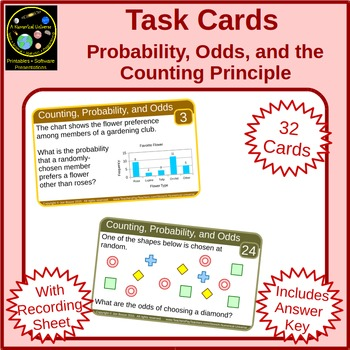 Probability Odds and the Counting Principle